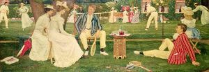 Gere, Charles March; The Tennis Party; Cheltenham Art Gallery & Museum; http://www.artuk.org/artworks/the-tennis-party-61804